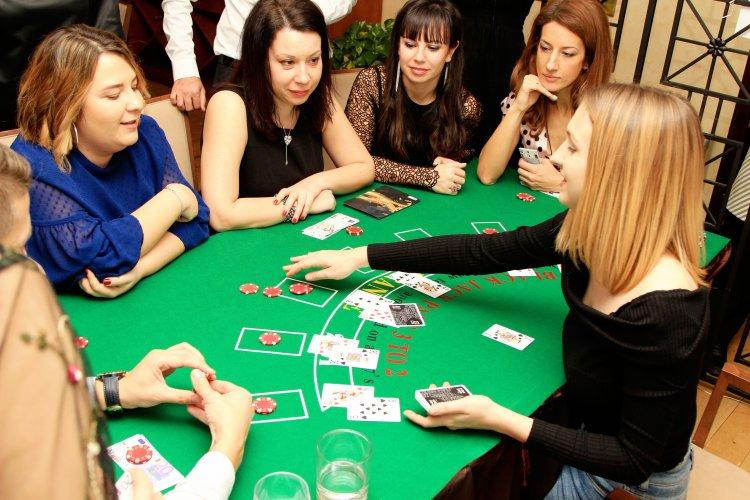 Луксозно казино парти